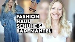 Zalando FASHION HAUL | Werbung vs Realität | Bademäntel und Sommer Schuhe | TRY ON