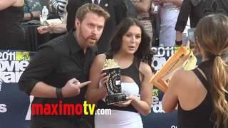 Alexa Vega and Sean Covel at 2011 MTV MOVIE AWARDS Red Carpet