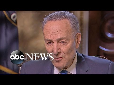 Sen. Chuck Schumer Says Donald Trump's Victory Is 'Not a Mandate'