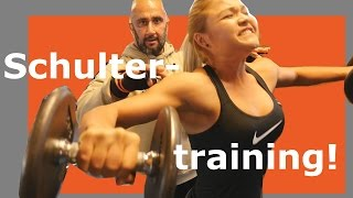 Extremes Schultertraining - mit Sophia Thiel