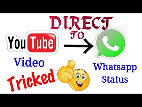 Set Youtube Video Direct To Your Whatsapp Status