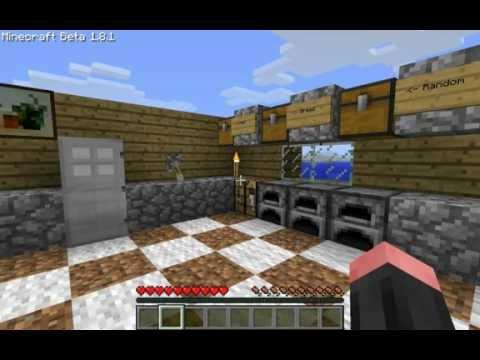 How To Make A Kitchen Sink In Minecraft