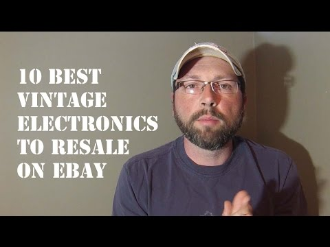 10 Best Vintage Electronics To Resale On Ebay #45 Craigslist Hunter