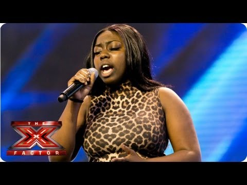 Hannah Barrett sings One Night Only by Jennifer Hudson - Arena Auditions Week 1 - The X Factor 2013