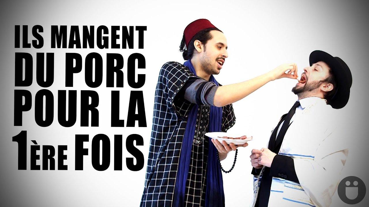 Ces Juifs Et Musulmans Mangent Du Porc Pour La Premiere Fois Youtube