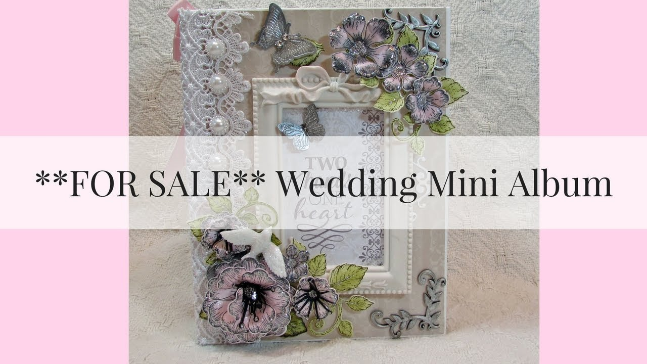 For Sale Wedding Mini Album Youtube