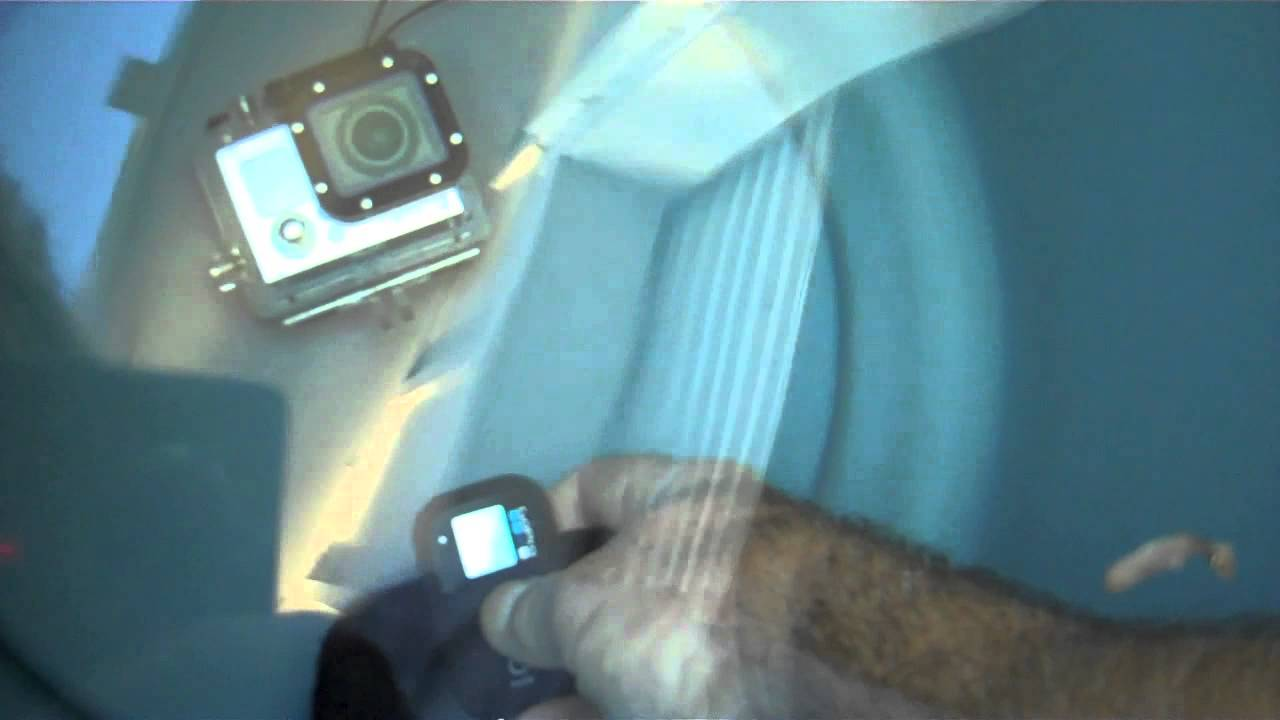 GoPro Hero 3 underwater remote test. - YouTube