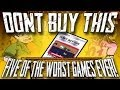 Don't Buy This: Five of the Worst Games Ever (ZX Spectrum) - Games Yanks Can't Wank