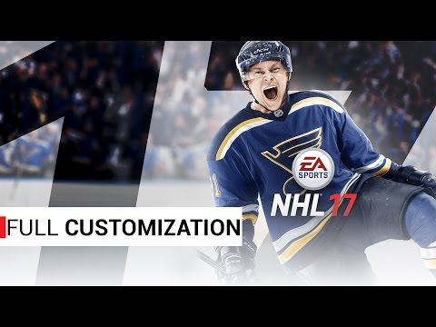 NHL 17 Beta - Full Team Customization!
