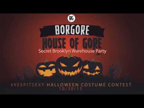 House of Gore - Secret Brooklyn Warehouse Party 10/30/15
