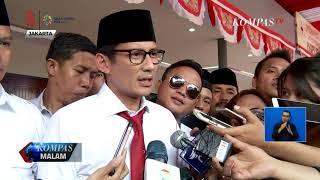 Bakal calon wakil presiden Sandiaga Uno menyatakan mantan Panglima ...