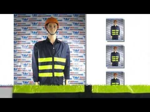 Áo dạ quang bảo hộ lao động màu xanh đen