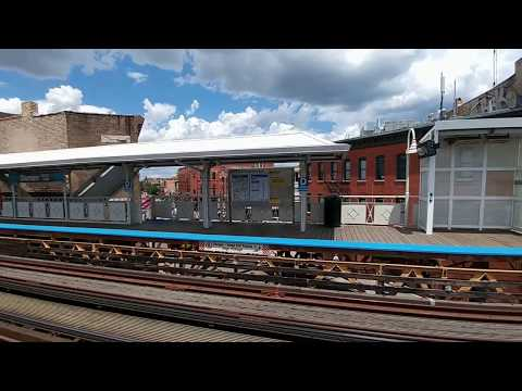 CTA Blue Line Damen Station Chicago