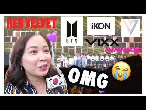 KPOP IDOL NOTICED ME!! I SAW BTS, iKON, SEVENTEEN, RED VELVET ++ (SBS SUPER CON 2018 TAIPEI) | VLOG