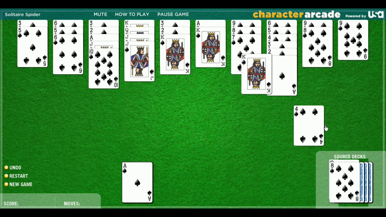 Spider Solitaire 3