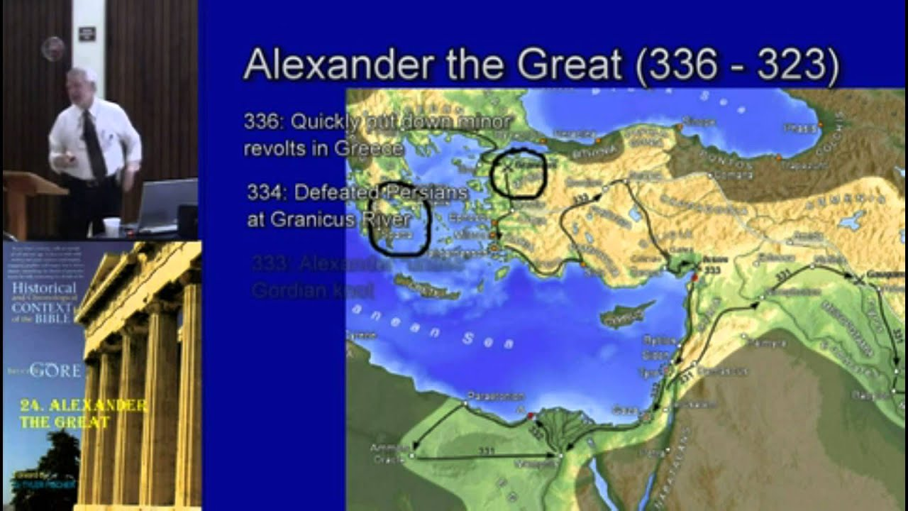 24. Alexander the Great and the Old Testament
