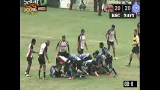 www.thescore.lk - Dialog Rugby League : Kandy SC Vs Navy SC - Second Half