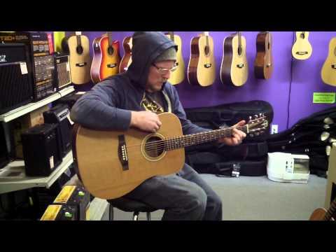 Teton Guitar Review, STG105NT, STJ105NT, STS105NT, Boothe Music in Utah