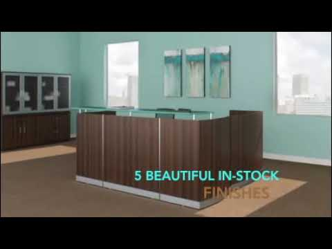 OfficeAnything.com - Medina Reception Desk Review