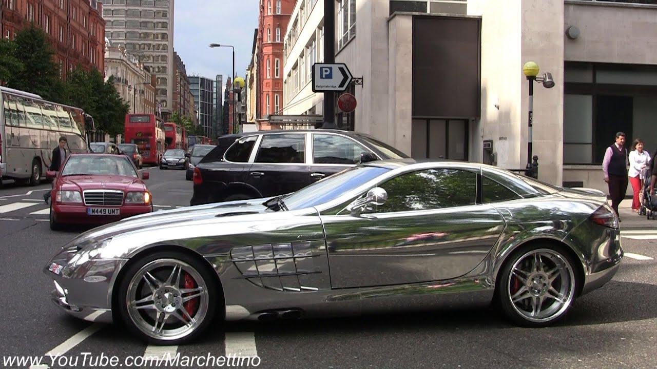 Cable Car Black And White Wallpaper Chrome Mercedes Slr Mclaren Brabus Youtube