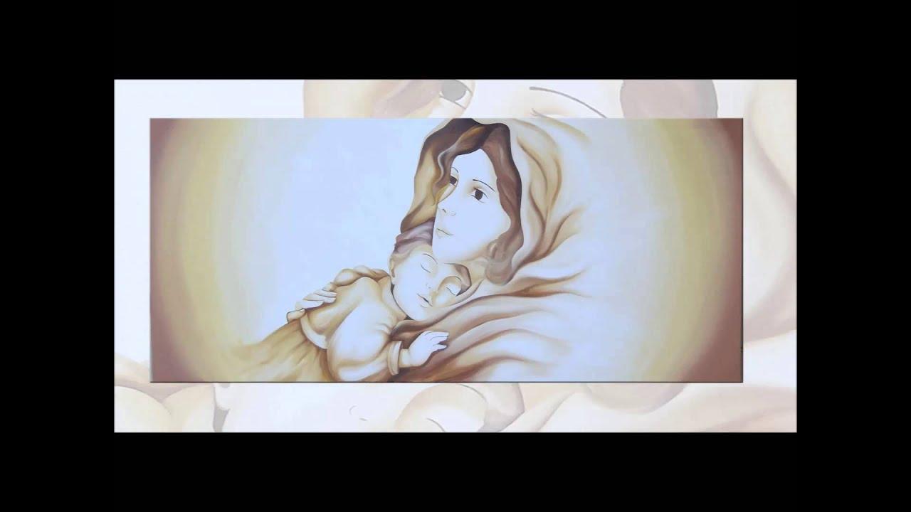 Quadri astratti moderni dipinti a mano - Quadri sacri per camera da letto ...