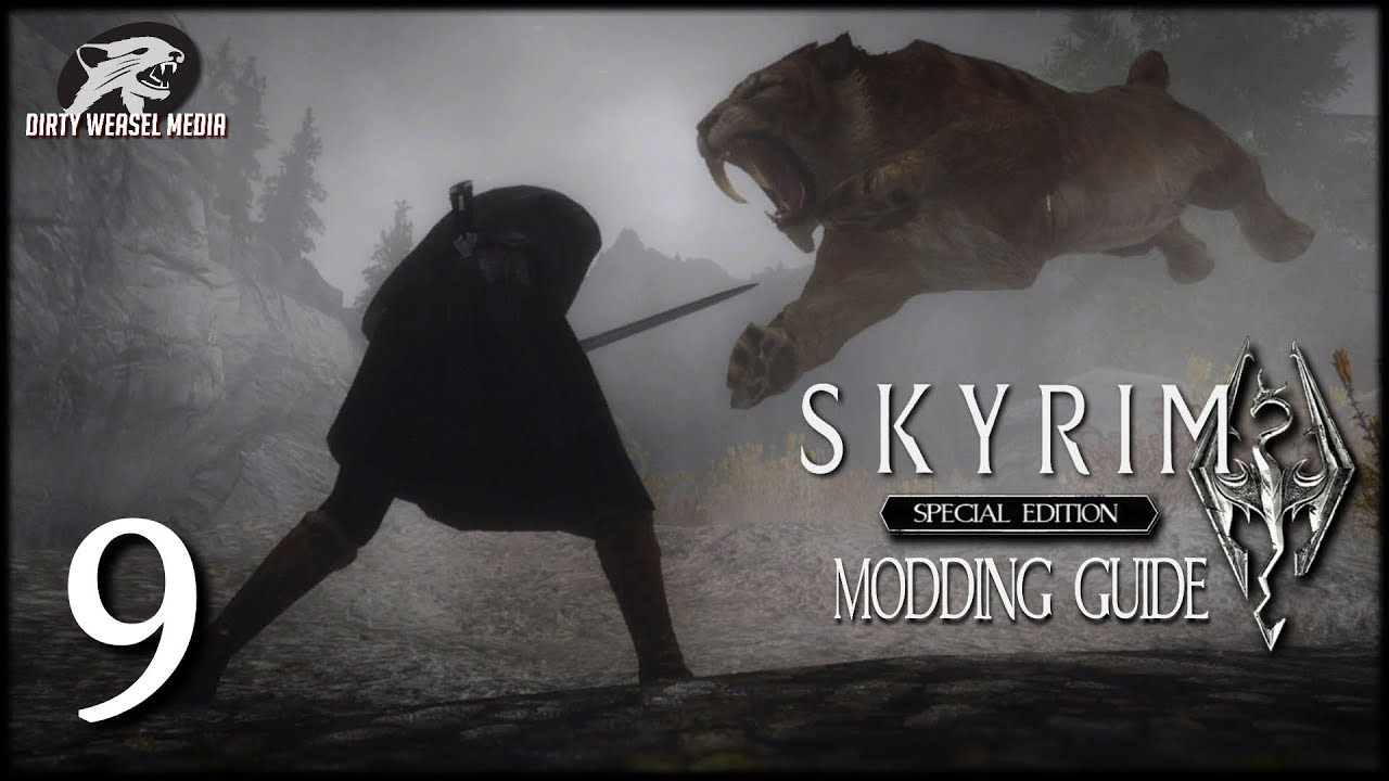 Skyrim Special Edition Modding Guide Ep9 - Converting Mods (Set-up and  Tools)