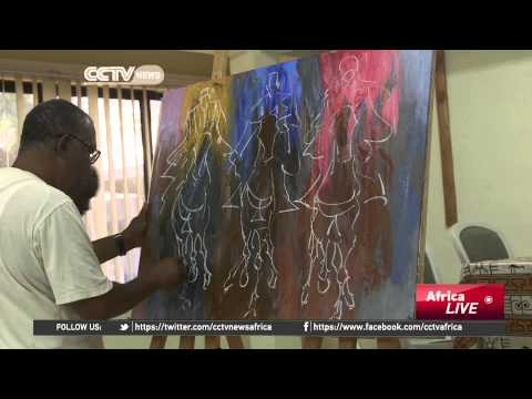Ghana's best-known artist and his work being celebrated