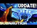 Subnautica - NEW WARPER SOUNDS IN GAME! NEW GHOST LEVIATHAN ROAR, UPDATED LAVA LIZARD ( Gameplay )