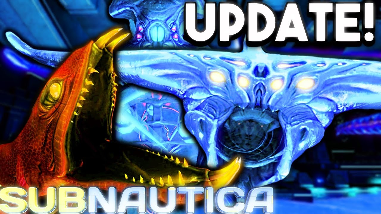 Subnautica - NEW WARPER SOUNDS IN GAME! NEW GHOST LEVIATHAN