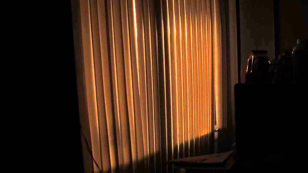 Light Coming Through The Blinds