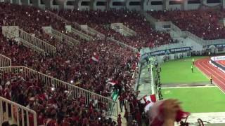 Chant Supporter Indonesia 'Ayo..ayo..ayo..Indonesia'