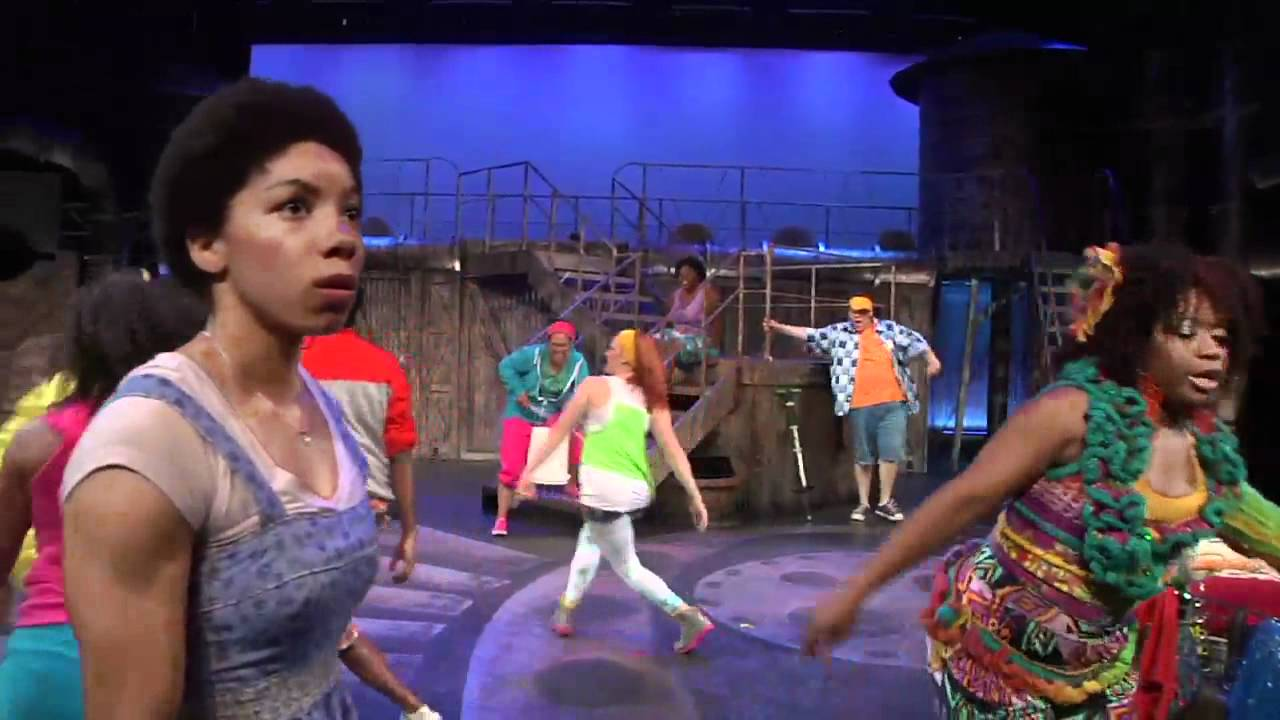 the wiz theatre at the center he s the wizard youtube