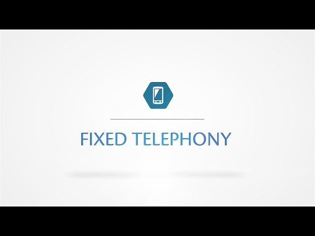 Fixed Telephony E1