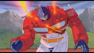 Transformers The Movie (1986) Optimus Prime vs. Megatron - EXTENDED WITH DELETED SCENES/STORYBOARD