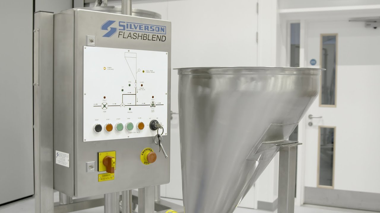 Flashblend - Powder/Liquid Mixing System