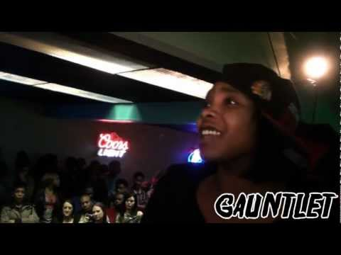 The Gauntlet Presents: Woodie Sick Spitta vs. BossLady FEMALE Rap Battle