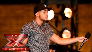 Mason Noise gets Cheryl excited! | Boot Camp | The X Factor UK 2015