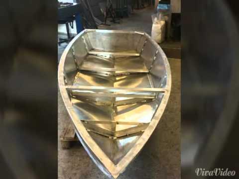 Алюминиевая лодка своими руками видео фото 794