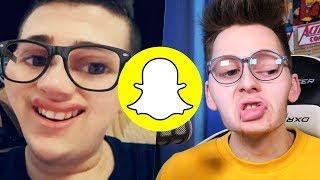 Klengan-Filter auf Snapchat