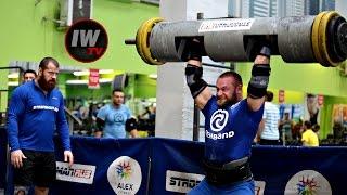 Тренировка STRONGMAN RUS - Алексей Минаев.