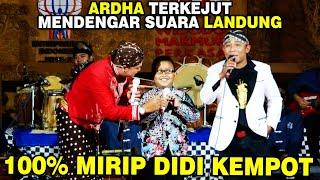 Download Mp3 Viral !!! Ardha Terkejut Mendengar Suara Landung Yang Mirip Didi Kempot