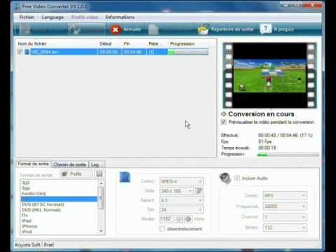 Tuto comment changer le format d 39 une video sans logic doovi - Couper une video sur vlc ...