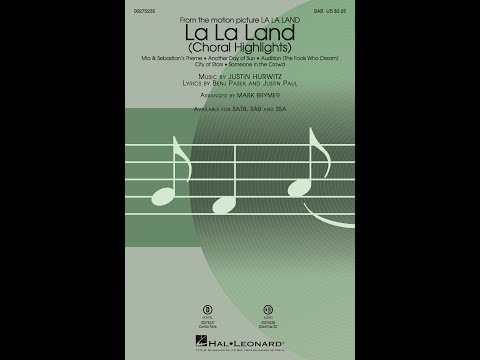La La Land: Choral Highlights (SAB) - Arranged by Mark Brymer