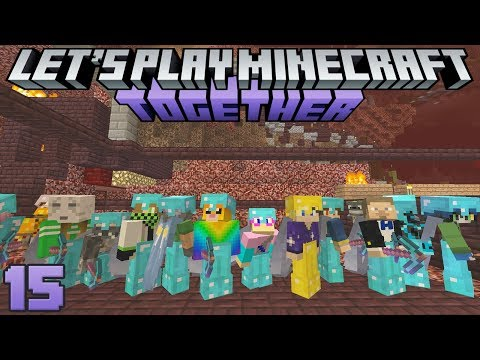 Let's Play Minecraft Together 15 Worker Ants Unite!