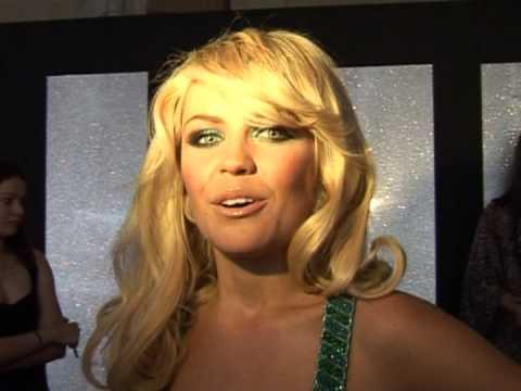 Abbey Clancy at the LivingTV