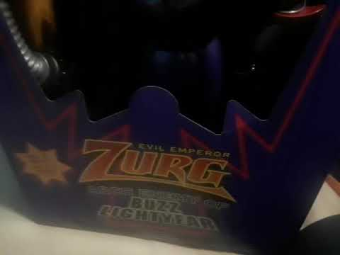 Arch Enemy of Buzz Lightyear Toy Story Evil Emperor Zurg Action Figure