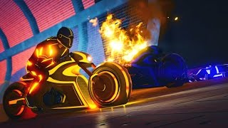 GTA 5 Online - TRON IN GTA 5 | NEW TRON BIKE & GAME MODE! (GTA V Online)