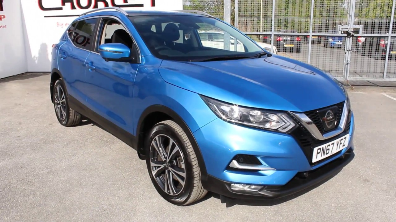 nissan qashqai 1 5 dci 110 n connecta vivid blue youtube. Black Bedroom Furniture Sets. Home Design Ideas
