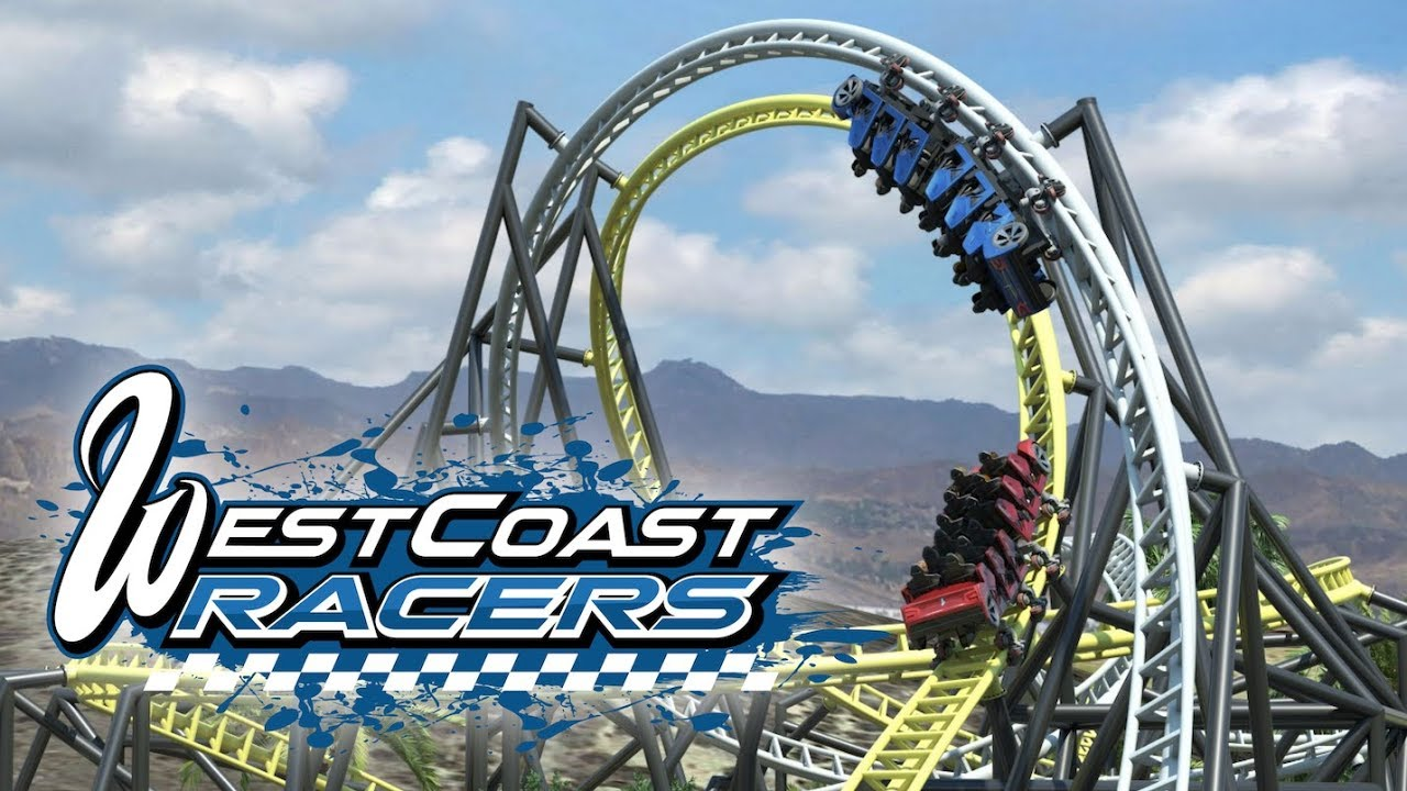 People ride the revolution roller coaster at six flags magic mountain in valencia, thursday, apr. West Coast Racers Six Flags Magic Mountain New For 2019 Roller Coaster Youtube