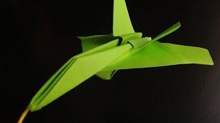 Paper Planes Origami F 15 Jet Fighter Paper Plane #origami